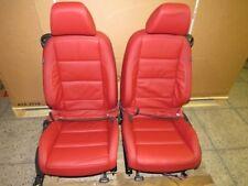 VW Golf 6 Cabrio Ledersitze rot Sitze A44649
