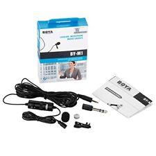 Boya By-m1 omnidireccional Micrófono de condensador de 20 pies audio cables C...