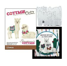Llamas cutting die Cottage Cutz metal dies CC-445 Farm Animals Petting Zoo