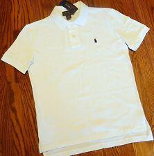 POLO RALPH LAUREN ORIGINAL BOYS NEW WHITE DRESS T-SHIRT Size XL (18-20), NWT