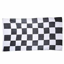 New listing 3*5ft Plaid Banners Car Racing Flags Checkered Motorsports With Flagpole Casing