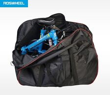 Roswheel padded folding bike travel transport carry bag suit Brompton 181238