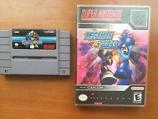 Mega Man & Bass SNES USA Repro, Plastic Case