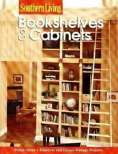 Southern Living Bookshelves & Cabinets Design Ideas Practical Storage Projects