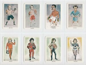 Venorlandus - Our Heroes, World of Sport (1979) - Full NM Set - Ali / Pele / etc