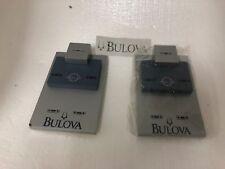 2 Bulova Watches Display Retailer