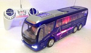 New Tourist Bus & Truck RC Radio Remote Control LED Music & Lights Dynamic Speed