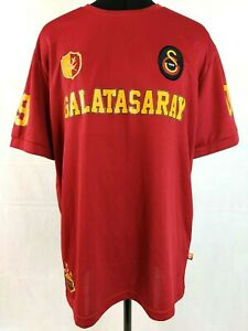Galatasaray GSSTORE Mens Official Fan T-Shirt Jersey Sz L Kirmizi 1905 GS Turkey