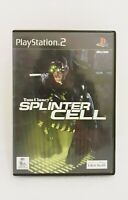 Playstation 2 PS2 - Tom Clancy's Splinter Cell - Complete with Manual Free Post