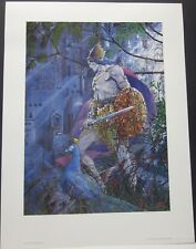 Last Atlantean by Barry Windsor Smith 100 New Condition Posters