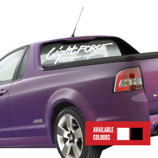 LIGHTFORCE VEHICLE STICKER - 1000mm WHITE - DIRECT FROM LIGHTFORCE AUSTRALIA