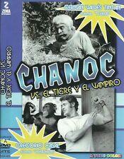 Chanoc Vs El Tigre Y El Vampiro-Aventura -85 Min- New Dvd