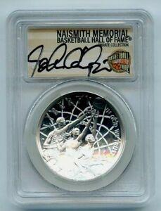 2020 P $1 Basketball Hall Fame Silver Commemorative PCGS PR70DCAM John Caliparri