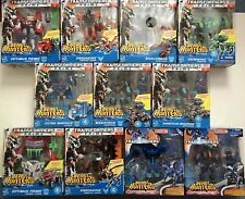 Transformers Prime Beast Hunters Voyager Class COMPLETE SET OF 11!  NEW SEALED!!