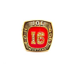 "Joe Montana #16 Nicknamed ""Joe Cool"" San Francisco 49ers Championship Ring"