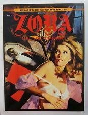 Eurocomics Presents Zora The She Vampire, English Version