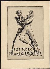 09)Nr.147- EXLIBRIS- Tod / death,Akt / act, Karl Ritter