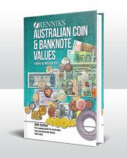 2020 Renniks Australian Coin & Banknote Values 30th Ed. Hardcover