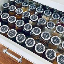 96 Spice Jar Labels (design 20)