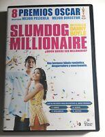 SLUMDOG MILLIONAIRE - DANNY BOYLE - DVD - 8 PREMIOS OSCAR - 4 GLOBOS DE ORO