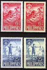 Filipinas 634-35 x, y **, cursi integral