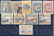 ROMANIA 1913 Recovery of Southern Dubrudja set used