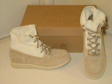 Timberland Brattle Fold Down Beige Tan Hiking Trail Ankle Boots Shoes Womens 6