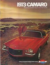 Chevrolet Camaro LT Z28 Sport Rally Sport 1972-73 Original USA Sales Brochure