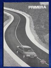Nissan Primera - Daten & Ausstattungen MJ 1995 - Prospekt Brochure 12.1994