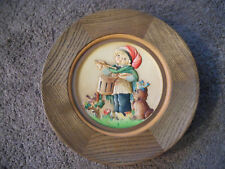 VINTAGE 1979 ANRI WOODEN CHRISTMAS PLATE, ''THE DRUMMER'', MADE IN ITALY, NICE