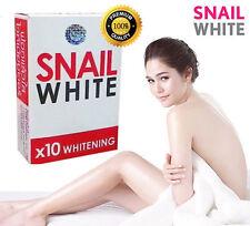 SNAIL WHITE SOAP GLUTATHIONE X10 WHITENING SKIN/REDUCE ACNE/ANTI AGING 70g
