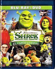 SHREK 4: FELICES PARA SIEMPRE.  Blu-ray y DVD. Tarifa plana en envío España, 5 €