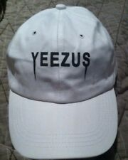 Yeezus Hat Glastonbury Unstructured strap back Dad Cap White 350 750 Yeezy Kanye