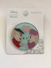 Disney The Rescuers Love Bernard And Miss Bianca Loungefly Enamel Trading Pin