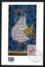 France - Carte Maximum 1965 - Coq de Decaris