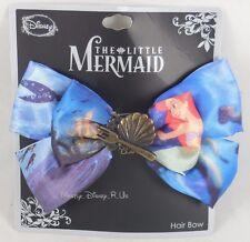 Disney The Little Mermaid Ariel Castle Charm Cosplay Hair Bow Pin Clip Costume