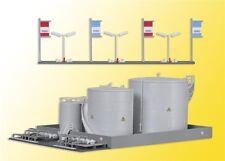 36726 Kibri Z Gauge Kit of a MIRO fuel tank facility