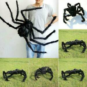 30cm Fake Spider Black Toy Halloween Large Funny Joke Prank Props Party Gift S