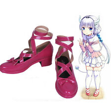 Miss Kobayashi's Dragon Maid Kamui Kanna High Heel Cosplay Shoes Customized Size