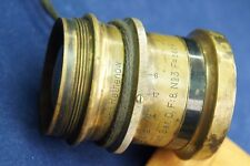 Vintage Brass Emil Busch.A.-G. Rathenow Rapid Aplanat Ser.D.F:8. №3 F=260 m/m