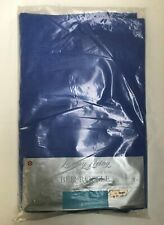 Vintage Target Luxury Living Blue Single Bed Ruffle (Cotton) New