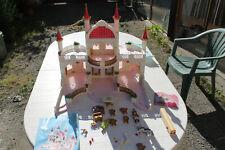 playmobil 4250 chateaux princesse  + 4257 et 1 figurine neuve