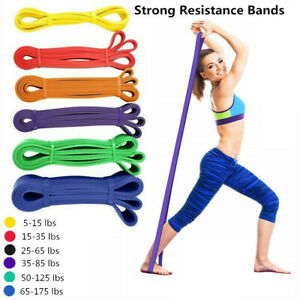 Pull-Up Assist Bands Strength Resistance Bands Latex Elastic Workout Band