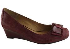 Wedge Leather Comfort Heels for Women