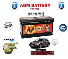 Per BMW X5 E70 3.0 TD 2007 -- > NUOVO Banner AGM Batteria Originale 850amps