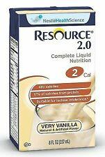 Resource 2.0 LIQ Form VANLLA Size 27x8 Oz