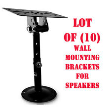 Lot of 10) Pyle PSTNDC31 Universal Dual Wall / Ceiling Speaker Mounting Brackets