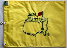 2014 Masters golf flag augusta national bubba watson wins pga new