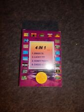 SACHEN 4 IN 1  VER 1 NINTENDO NES VINTAGE GAME WITH INSTRUCTIONS