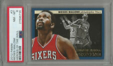 2012 Panini Moses Malone Heroes of the Hall PSA 8